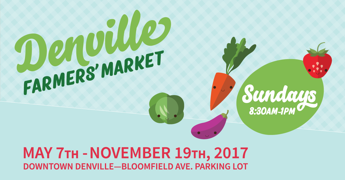 Denville Farmers' Market - Sundays from 8:30am-1:00pm!